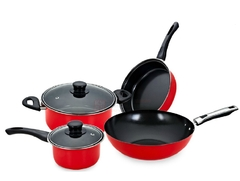 Kitchen products-4 PIECE LIGHT DUTY NON-STICK POTS