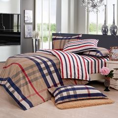 Four Piece Long Staple Cotton Duvet Cover Sets Multicolor 6*6
