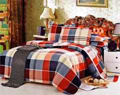 Four piece High quality thick 100%cotton duvet cover sets Multicolor 5*6