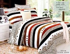 One piece multicolor flat sheet (Thicken Long Staple cotton) Multicolor 4*6