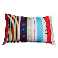 Thicken Long-staple cotton multicolor pillow case Multicolor 48cm*76cm