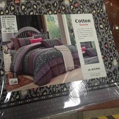 Four piece 100% Cotton bedding set