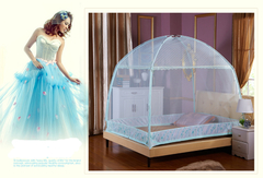 Double bed size for safety against insects one color 4*6