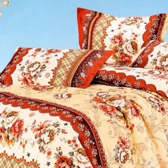 Two piece multicolor pillow case (New richcel cotton) Multicolor 48cm*76cm