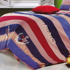 One piece multicolor Duvet cover (Thicken Long Staple Cotton) Multicolor 4*6
