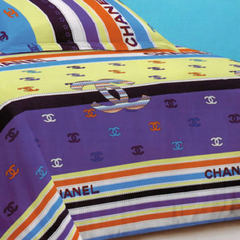 One Piece Multicolored Duvet Cover (New Richcel Cotton) Multicolor 5*6