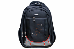 Easenet black with white strip laptop bag