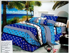 Four Piece new richcel multicoloured cotton duvet cover set Multicolor 6*6