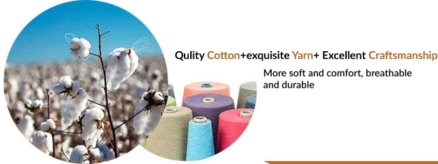 100% Cotton, Breathable, Stain resistant, easy Clean, Quality Yarn , Fabric
