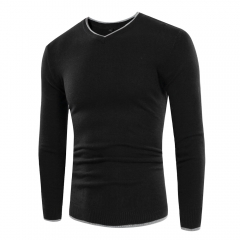 New simple men's long sleeve sweater SW03-P35 001 m