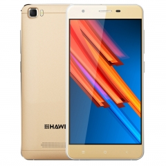 HAWEEL H1 Pro 5.0 inch Android 6.0 smartphone MTK6735 quad-core smartphone gold