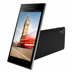 "Idroid Royal V5 smart phone ,Camera 13MP + 5MP , Memory 8GB+1GB,Screen Size 5.0"", one free cover black"