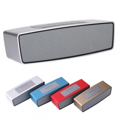 Bluetooth Speaker Wireless High-end Mini Stereo Speaker/ Music Player,With Earphone For Free black one size