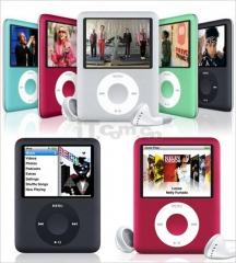 XMB nano3 8/16/32/64GB mp3 mp4 player with Photo E-Book Reader Voice Recorder Radio Video Movie black 8gb