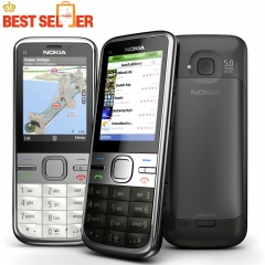 C5-00i Original Phone Unlocked Nokia C5 C5-00 Cell phones GSM 3G 3Mp Camera FM GPS Bluetooth black