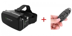 Shinecon VR Pro Version Virtual Reality Google 3D Glasses Headset + Remote