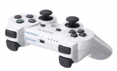 For Sony PS3 Playstation 3 2.4GHz Wireless Bluetooth Gamepad Joystick white