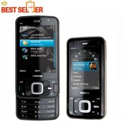 N96 100% Original mobile phone Nokia N96 Wifi GPS Bluetooth 5MP Camera Phone Unlocked GSM WCDMA black