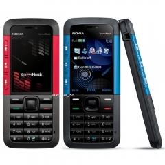 Original Nokia 5310 XpressMusic Unlocked Phone Bluetooth MP3 FM Quality Warranty red