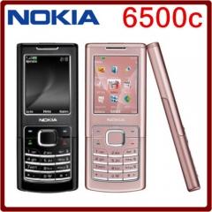 ORIGINAL Nokia 6500c 100% UNLOCKED 6500 CL GSM Cellphone WARRANTY FREE black