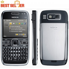 new Unlocked Original Nokia E72 cell phones 5MP Camera Wifi Bluetooth FM GPS phone white