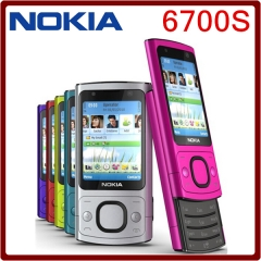 Original 6700s NOKIA Mobile Phone Camera 5.0MP Bluetooth Java Unlocked 6700 slide Phone black