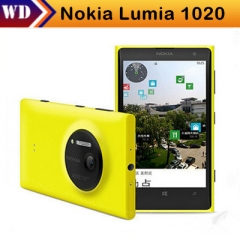 "new Nokia Lumia 1020 Windows Phone 8 Dual Core 4.5"" Screen 32G/64G Camera 41MP NFC Bluetooth 3G/4G 32G black"
