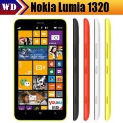 new Nokia Lumia 1320 Windows Phone 8 Black Dual Core 1G RAM 8GB 5MP Camera 6.0 inches WIFI GPS 4G black