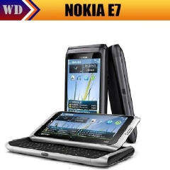 Nokia E7 original unlocked GSM 3G mobile phone WIFI GPS 8MP black