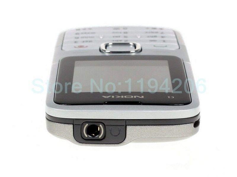 Refurbished nokia C series C1-01 -(unlocked) GSM 900/180 durable phone black 2