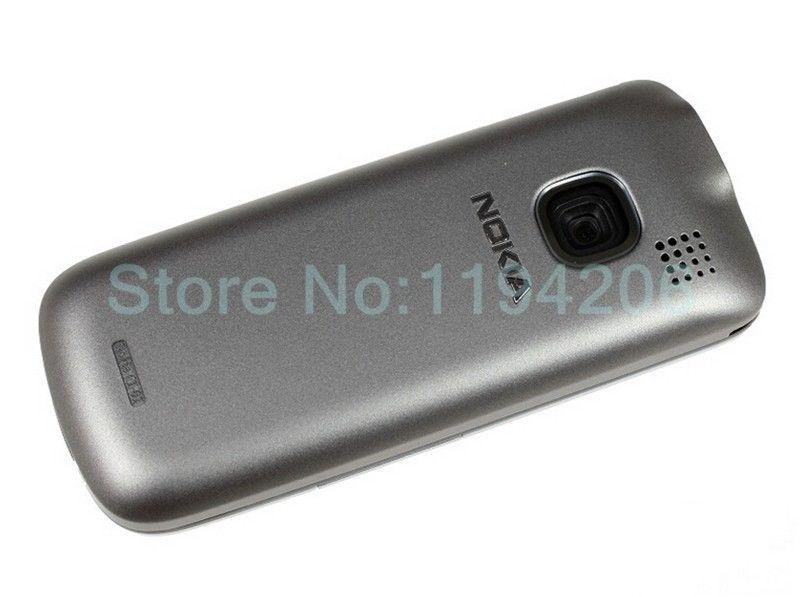 Refurbished nokia C series C1-01 -(unlocked) GSM 900/180 durable phone black 5