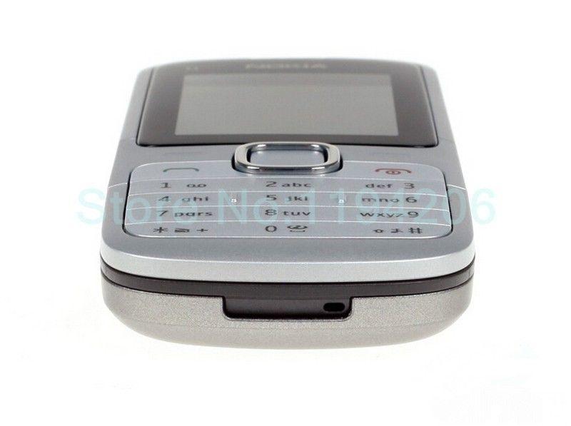 Refurbished nokia C series C1-01 -(unlocked) GSM 900/180 durable phone black 6