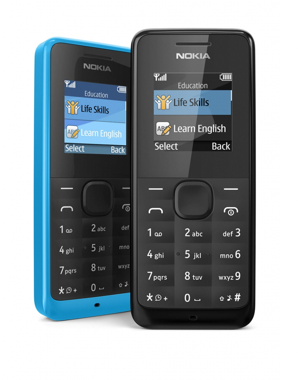 new Original Nokia 105/1050 Ultra-long time standby phone Color phone multilingual blue 1