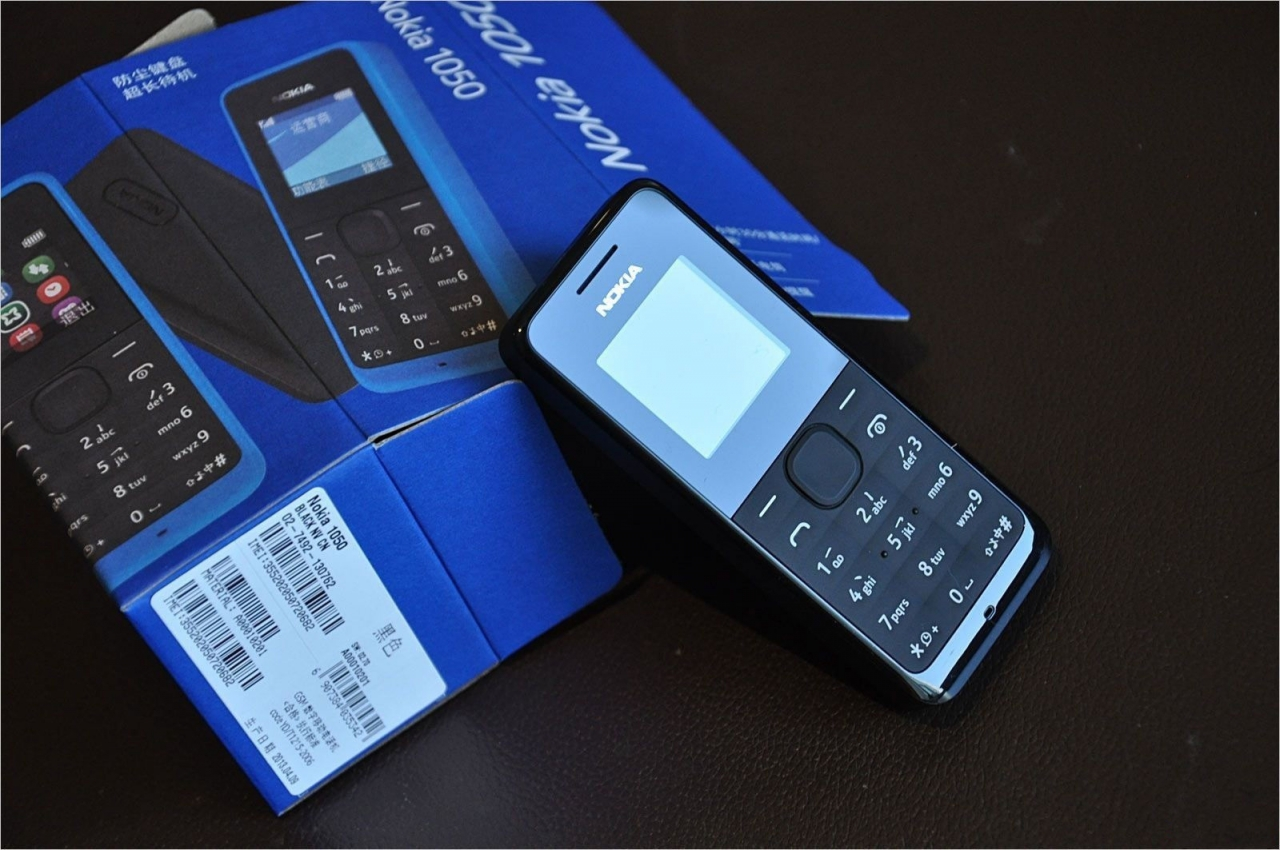 new Original Nokia 105/1050 Ultra-long time standby phone Color phone multilingual blue 5