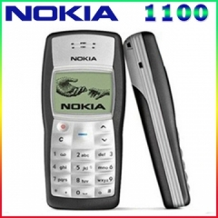 Cheapest Original Nokia 1100 Mobile Phone Unlocked GSM900/1800MHz cellphone with multi languages black