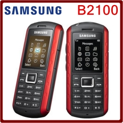 B2100 Original Unlocked Samsung B2100 1000mAh 1.3MP 1.77 Inches 3G Waterproof Refurbished Cellphone red