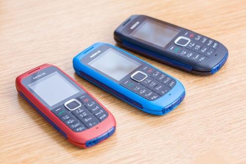 Refurbished phone Nokia 1616 Original Brand Mobile Phone GSM Unlocked Phone GSM 900/1800 Cheap red 4