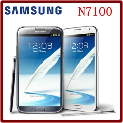 Samsung Galaxy Note II 2 N7100 Quad Core 5.5 Inch 8.0MP 2GB RAM 16GB ROM WCDMA 3G Android Unlocked N7105 white