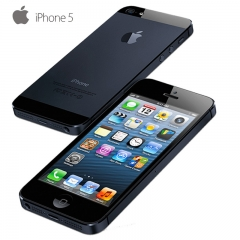 new original Apple iPhone 5 Dual Core 8MP WCDMA 16GB/32G/64GB ROM 1GB RAM IOS 7 4.0``Smartphone 64gb standard grey