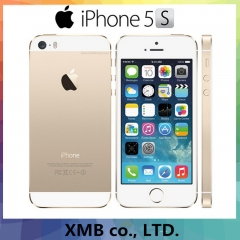 Factory Unlocked Original Apple iPhone 5s Fingerprint IOS OS Mobile Phone Touch ID iCloud App Store 32GB grey