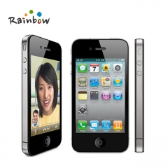 new Original Apple iPhone 4 iOS 16G Or 32GB ROM 3.5 inches 5MP Camera WIFI GPS Cell Phone 8g black