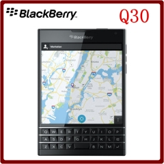 Original Unlocked Blackberry passport Q30 Quad Core LTE 3GB RAM 32GB ROM 13.0MP BlackBerry OS black
