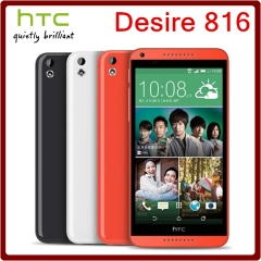 Original Unlocked HTC Desire 816 Quad Core 8GB ROM+1GB RAM 13.0MP 5.5 Inch Dual SIM Cards black