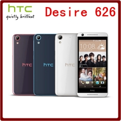 Original Unlocked HTC Desire 626S 5.0 Inch Single Sim Card 13MP 16GB ROM+2GB RAM Touchscreen black