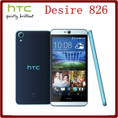 Original Unlocked HTC Desire 826 Octa Core 5.5`` 13MP Camera 2GB RAM+16GB ROM 1080P GPS WIFI white