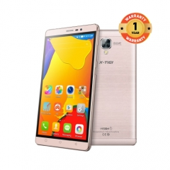 "X-TIGI Vision 6 Smartphone- 6"" HD IPS Screen, 2GB RAM+16GB ROM Quad-Core, 4100mAh, Free VR Box Rose Gold"