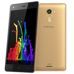 INFINIX Hot 4 X557, 5.5 Screen, 2+16GB, 5+8MP Camera, Finger print Scan, Best Smart Mobile Phone Gold