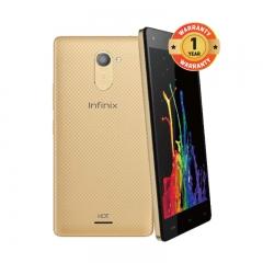 INFINIX X557 HOT4 Lite - 5.5 Inch - 1+16GB, 5+ 8MP Camera - Dual SIM - 3G , gold