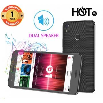 INFINIX HOT 5 X559C, 5.5 In, 16+2GB, 8+5MP, 3D Stereo Dual Speaker, FingerPrint, 4000mAH, SmartPhone Black