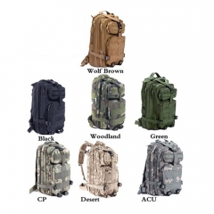 3P Tactical Military  Backpack Oxford Outdoor Sport Bag for Camping Traveling Hiking Trekking  30L Desert 30L